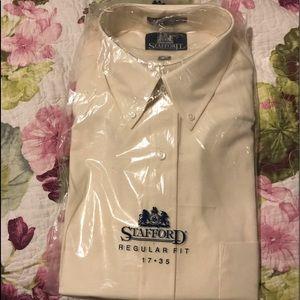 Men's stafford 17-35 shirt long sleeve